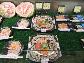 カルフールの寿司コーナー2.jpg
