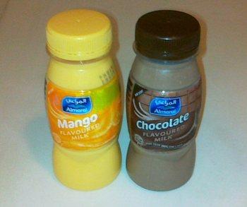 マンゴ味ミルク&choko milk.jpg